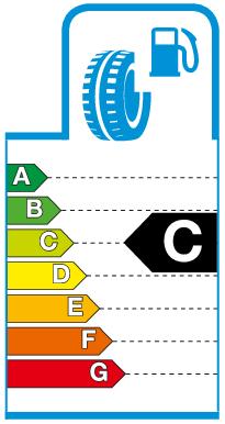 Label C.png Brandstofverbruik / rolweerstand