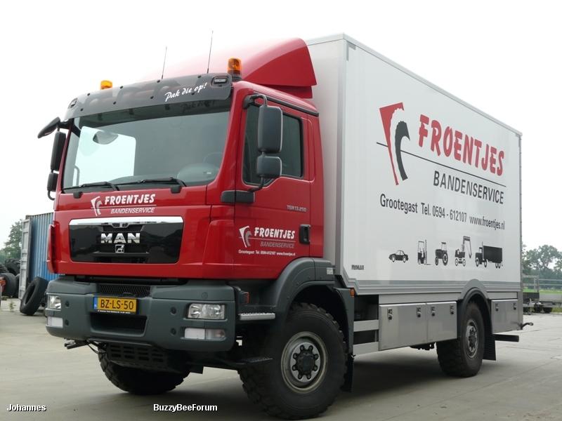 Servicewagen MAN TGM 13.250 4x4