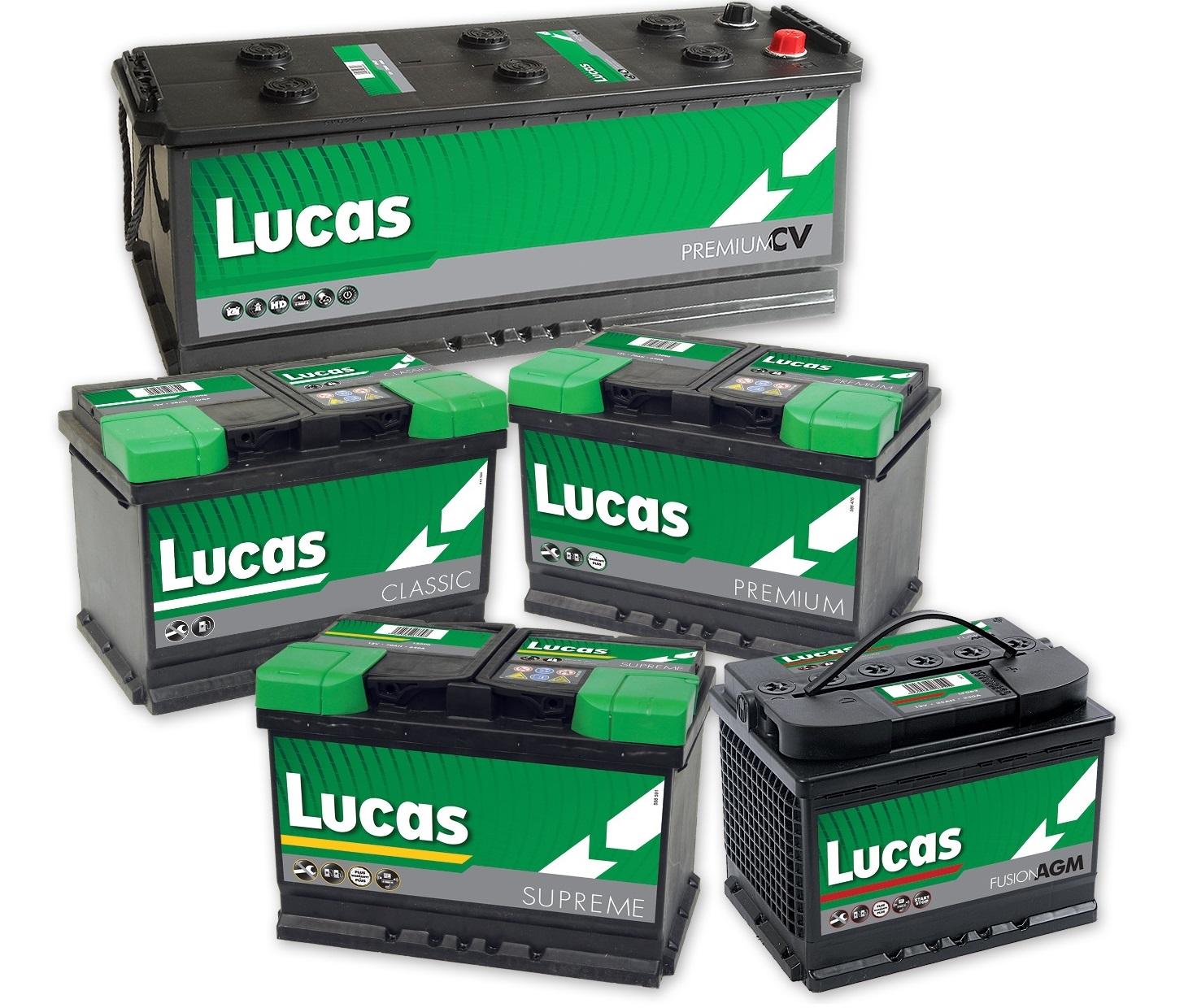 Lucas accu's